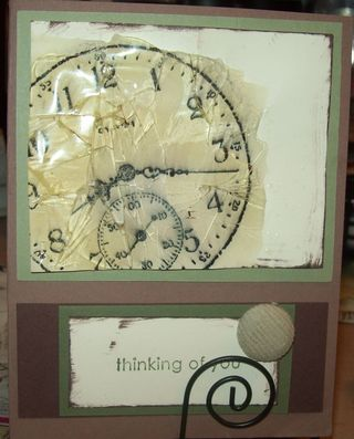 Cracked glass clock angieh29