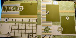 March 2010 Calendar