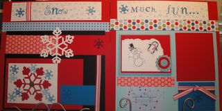 Snow much fun angieh29 February scrapbook kits 022