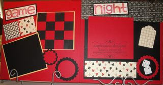 Game Night Feb 13 Scrapbook kits 016