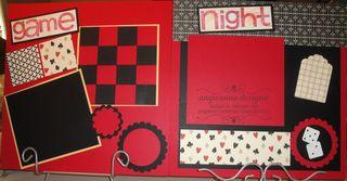 Game Night Feb 13 Scrapbook kits 016