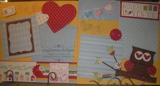 Whoo Loves U Feb 13 Scrapbook kits 017