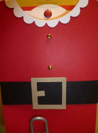 Santa gift card holder dec 12