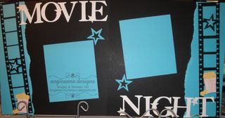 Movie Night Feb 13 Scrapbook kits 015